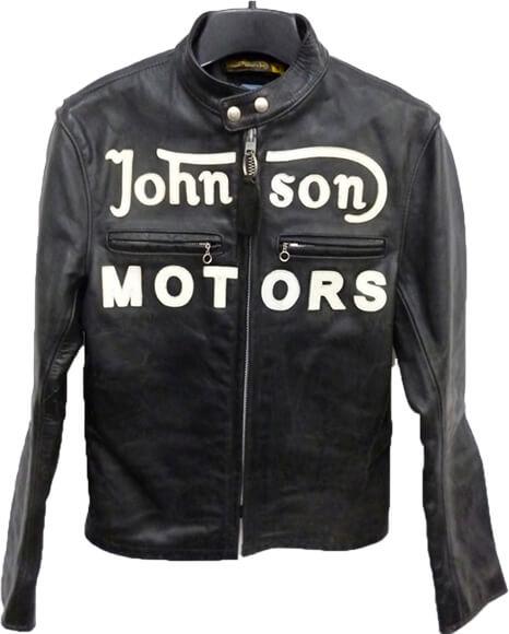 バンソン×ジョンソンモータース VANSON×Johnson Motors レザーシングルライダースジャケット