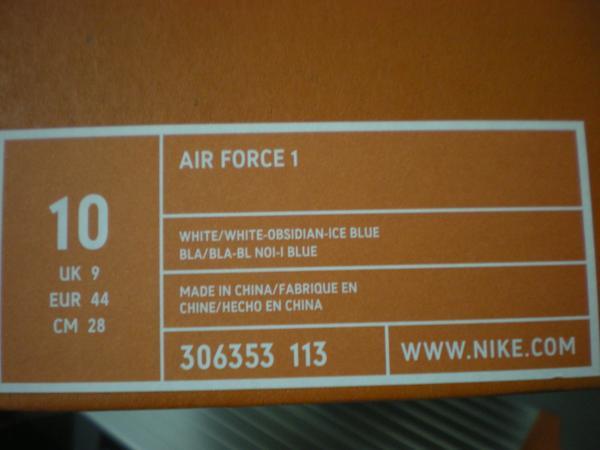 ナイキ NIKE AIR FORCE 306353 113アイスキューブ (2)