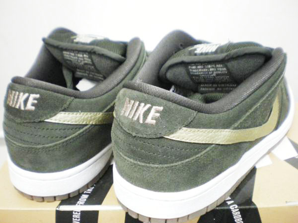 ナイキ NIKE DUNK SB 304292-300 SEQUOIA (2)