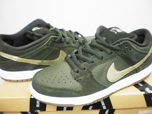 ナイキ NIKE DUNK SB 304292-300 SEQUOIA