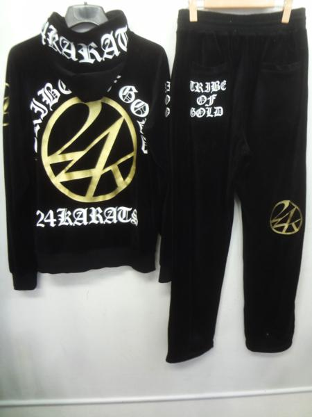 24karats ベロアセットアップ