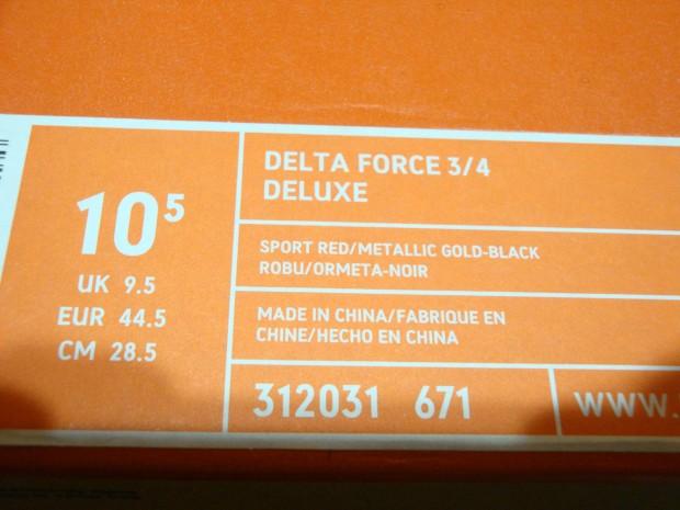 ナイキNIKE  DELTA FORCE  DELUXE 312031-671  (2)