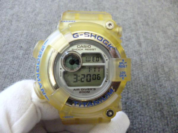 カシオCASIO G-SHOCK FROGMAN DW-8201WC WCCS フロッグマン
