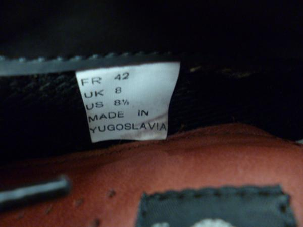 adidas アディダス マラソントレーナー ユーゴスラビア製 (3)