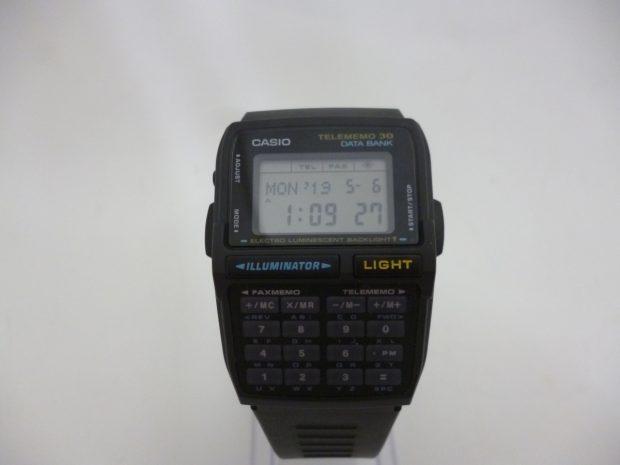 カシオ DATABANK WAVE SEPTOR データバンク DBC-30 腕時計