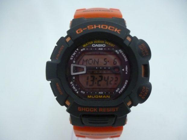 カシオ G-SHOCK G-ショック MUDMAN レスキューオレンジ G9000R