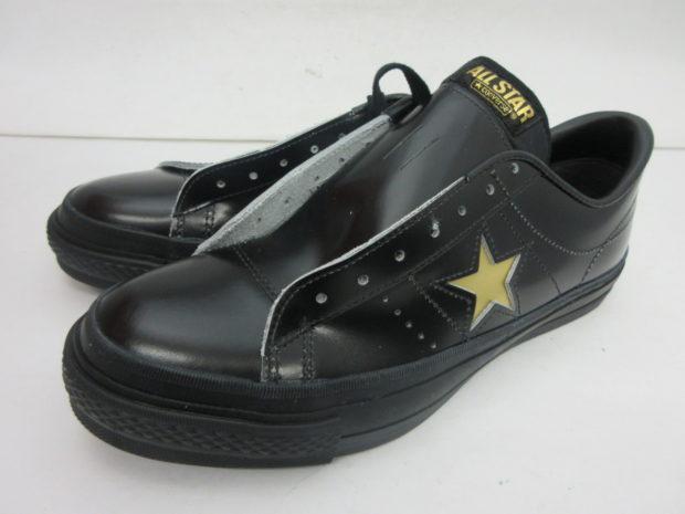 コンバース CONVERSE ONE STAR J  ワンスター BK/GO  スニーカー