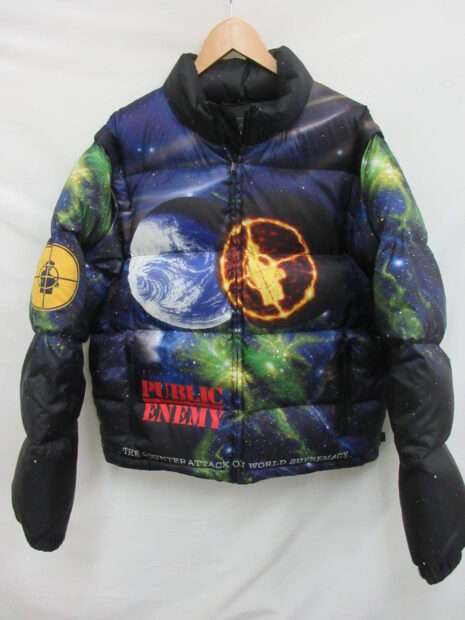 シュプリーム Supreme x UNDERCOVER x Public Enemy Puffy Jacket