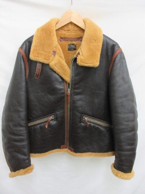 THE REAL McCOY'S ザリアルマッコイズ TYPE D-1 ラフウェア ムートン フライトジャケット