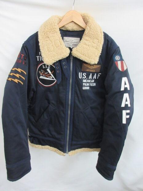 アヴィレックス AVIREX PADDING B-3 AAF JACKET 6192213 FLYING TIGERS フライトジャケット